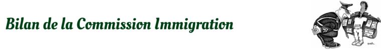 Bilan Immigration