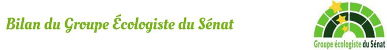 Groupe Écologiste au Sénat